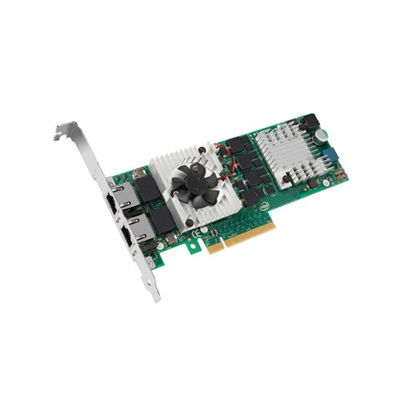 Picture of Dell Intel X540-T2 Dual Port 10GbE-T Rj45 Ethernet PCIe Card 3DFV8