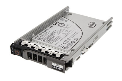"Picture of Dell 1.6TB MLC 6G SATA III Mixed Use 2.5"" Hotswap SSD Hard Drive V99DG 0V99DG"