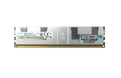 Picture of HP 32GB (1x32GB) Quad Rank x4 PC3-14900L (DDR3-1866) CAS-13 Memory Kit 708643-B21 712384-081