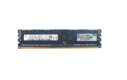 Picture of HP 4GB (1x4GB) Single Rank x4 PC3L-12800R (DDR3-1600) Registered CAS-11 Low Voltage Memory Kit 713981-B21 713754-071