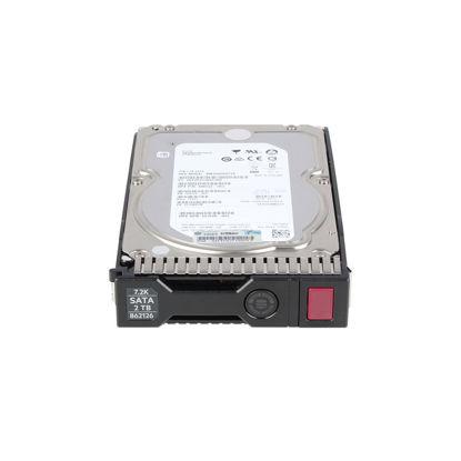 Picture of HPE 2TB 6G SATA 7.2K RPM LFF (3.5inch) SC Midline Hard Drive 861676-B21 862126-001