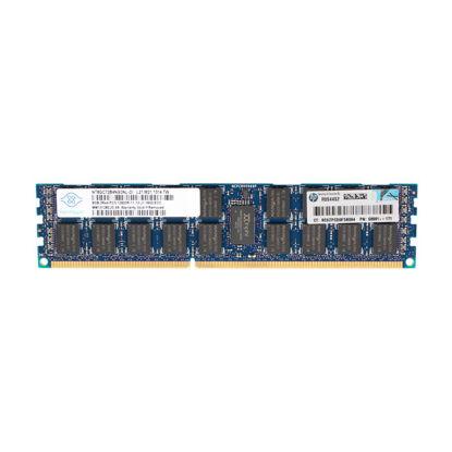 Picture of HP 8GB (1x8GB) Dual Rank x4 PC3-12800R (DDR3-1600) Registered CAS-11 Memory Kit 695793-B21 698808-001
