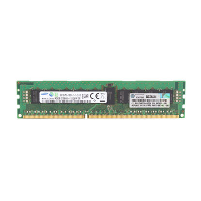Picture of HP 8GB (1x8GB) Single Rank x4 PC3-12800R (DDR3-1600) Registered CAS-11 Memory Kit 647879-B21 687462-001
