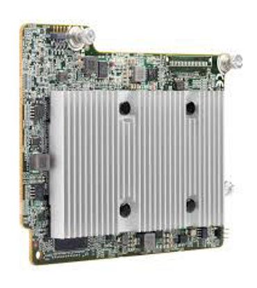 Picture of HPE Smart Array P408e-m SR Gen10 (8 External Lanes/2GB Cache) 12G SAS Mezzanine Controller 804381-B21