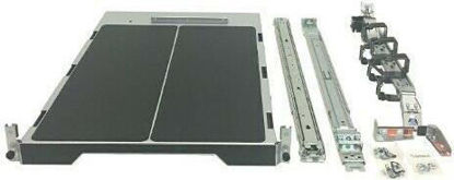 Picture of HPE ML Gen10 Tower to Rack Conversion Kit with Sliding Rail Rack Shelf and Cable Management Arm 874578-B21