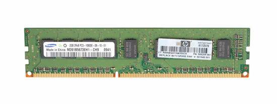 Picture of HP 4GB (2x2GB) Dual Rank x8 PC3-10600 (DDR3-1333) Unbuffered CAS-9 Memory Kit 2X 500670-B21 501540-001