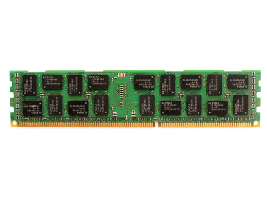 Picture of HP 8GB (1x8GB) 2RX4 PC3-10600 DDR3-1333 Memory Kit 500662-B21 501536-001