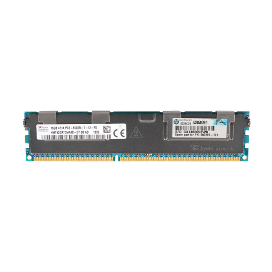 Picture of HP 16GB (1x16GB) 4RX4 PC3-8500 DDR3-1066 Memory Kit 500666-B21 501538-001
