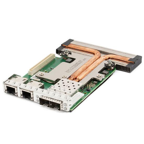 Picture of Dell Intel X710 i350 2x 1GB RJ45 2x 10Gb SFP+ Quad Port Daughter Card - 6VDPG