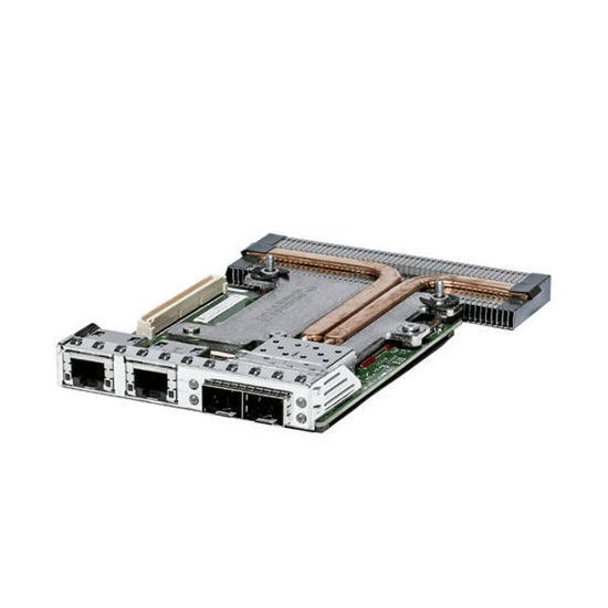 Picture of Dell Intel X520 2x10GB 1GB SFP RJ45 Quad Port Daughter Card - C63DV