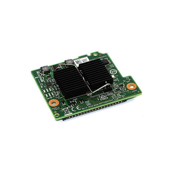 Picture of Dell Broadcom 5720 Quad Port 1GB Blade Daughter Card - MW9RC