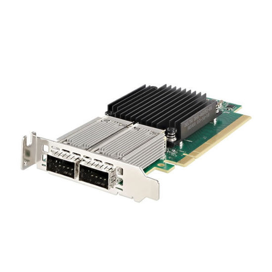 Picture of Dell Mellanox ConnectX-4 100Gbe Dual Port QSFP28 Network Adapter Low Profile - HWTYK