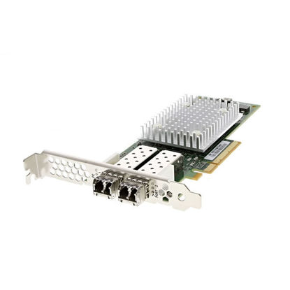 Picture of Dell Qlogic QLE2742 32GB Dual Port SFP+ Fibre Channel Host Bus Adapter High Profile - T3TK5
