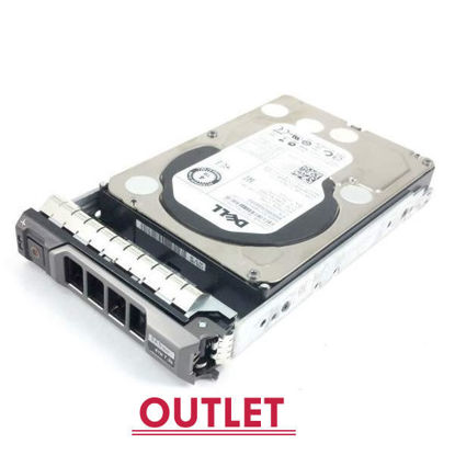 """Picture of Dell  4TB 7.2k rpm SAS 6G (3.5"""") Hard Drive 529FG 0529FG (Outlet)"""