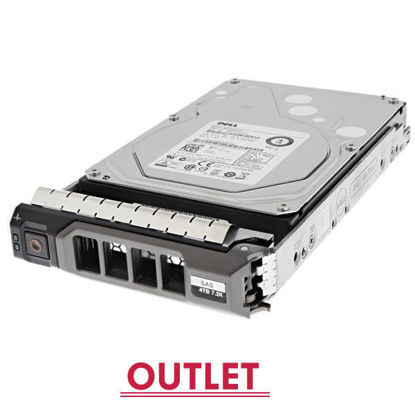 "Picture of Dell 4TB 7.2k rpm SAS 6G (3.5"") Hard Drive  12GYY 012GYY (Outlet)"