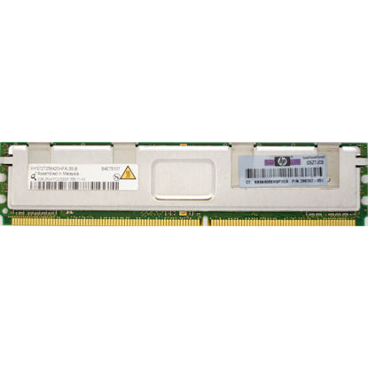 Picture of HP 4GB (1x4GB) FBD PC2-5300 Memory Kit 397413-B21 398707-051