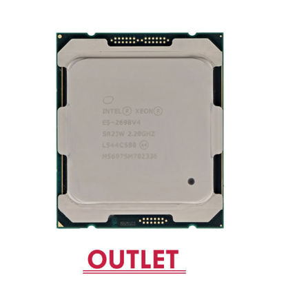 Picture of Intel Xeon E5-2698v4 (2.2GHz/20-core/50MB/135W) Processor SR2JW (Outlet)