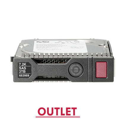 Picture of HP 3TB 6G SAS 7.2K rpm LFF (3.5-inch) SC Midline Hard Drive 652766-B21 653959-001 (Outlet)