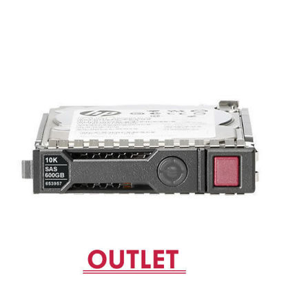 Picture of HP 600GB 6G SAS 10K rpm SFF (2.5-inch) SC Enterprise Hard Drive 652583-B21 653957-001 (Outlet)