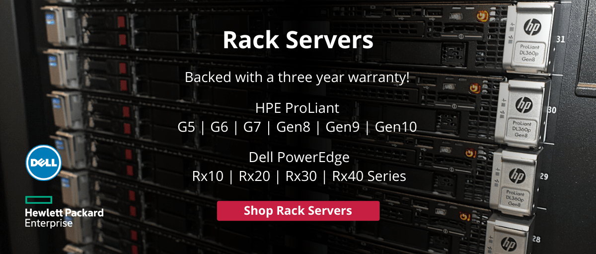 HPE and Dell Rack Servers