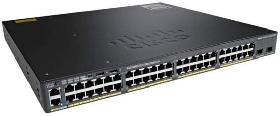 Picture of Cisco Catalyst C2960X-48TS-LL 48 x Ethernet 10/100/1000 ports and 2 x 1G SFP uplink Switch WS-C2960X-48TS-LL