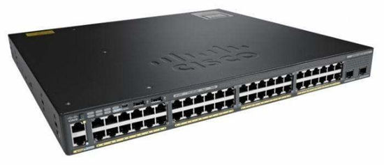 Picture of Cisco Catalyst C2960XR-48LPS-I 48 x Ethernet Gigabit Ports + 4 x SFP+ Switch  WS-C2960XR-48LPS-I