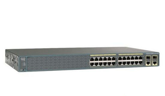 Picture of Cisco Catalyst C2960-24LT-L 24 x 10/100 Ethernet Ports (8 x PoE) + 2 x 1G TX uplinks Switch WS-C2960-24LT-L