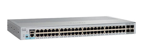 Picture of Cisco Catalyst C2960L-48PS-LL 48 x 1G Ethernet PoE Ports + 4 x 1G SFP Switch WS-C2960L-48PS-LL