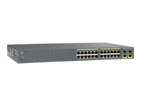 Picture of Cisco Catalyst 2960-S 24-Port 10/100 BASE-T Switch WS-C2960-24-S