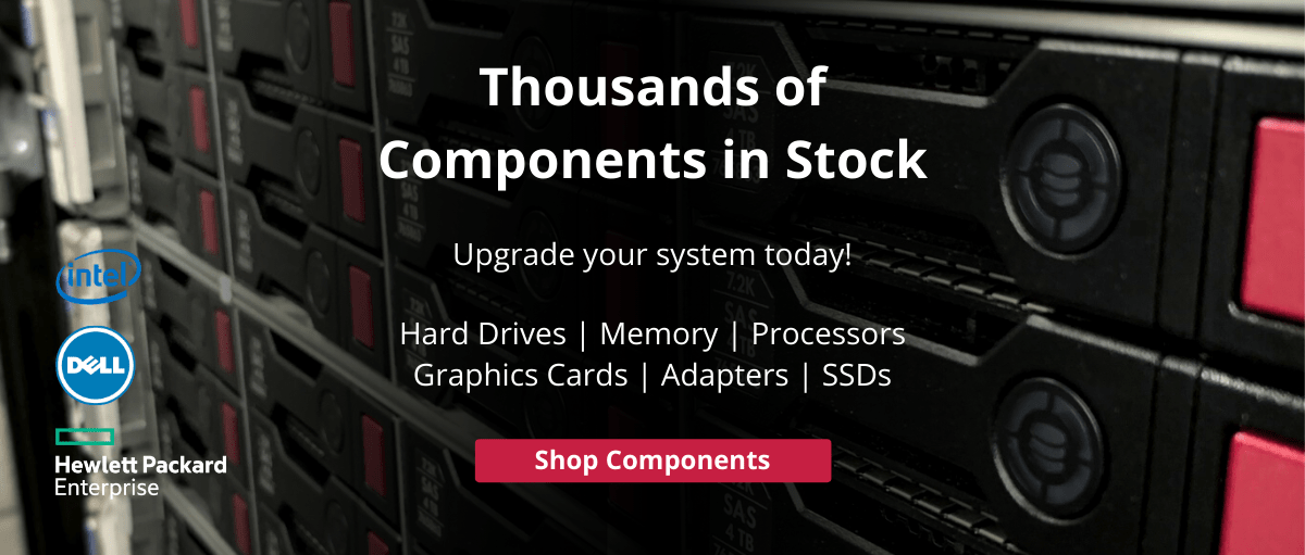 Thousands of components in stock