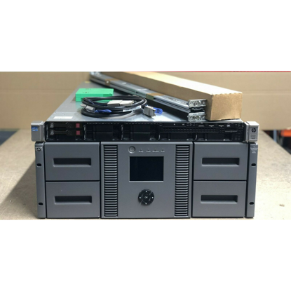 MSL4048 DL360p Drive Tape Storage Configuration