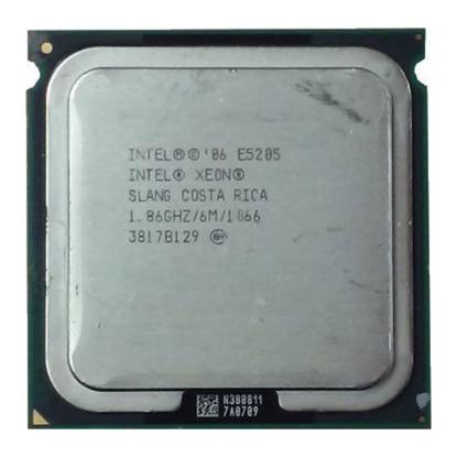 Picture of Intel Xeon Dual Core E5205 (1.86 GHz 65 Watts 1066 FSB) SLANG