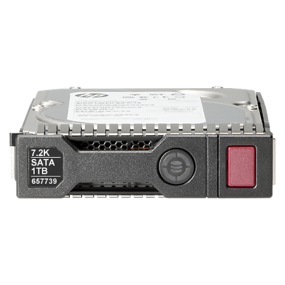 Picture of HP 1TB 6G SATA 7.2K rpm LFF (3.5-inch) SC Midline Hard Drive 657750-B21 657739-001