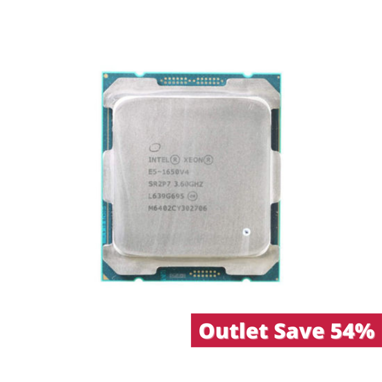 Picture of Intel Xeon E5-1650v4 (3.6GHz/6-Core/15MB/140W) Processor Kit SR2P7 (Outlet)