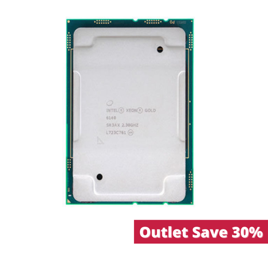 Picture of Intel Xeon-Gold 6140 (2.3GHz/18-core/140W) Processor SR3AX (Outlet)