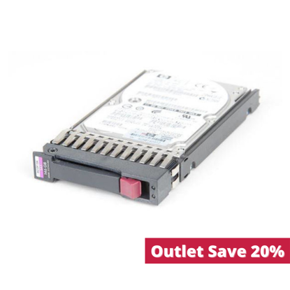 Picture of HP 146GB 6G SAS 15K 2.5 Dual Port Hard Drive 512547-B21 512744-001 (Outlet)