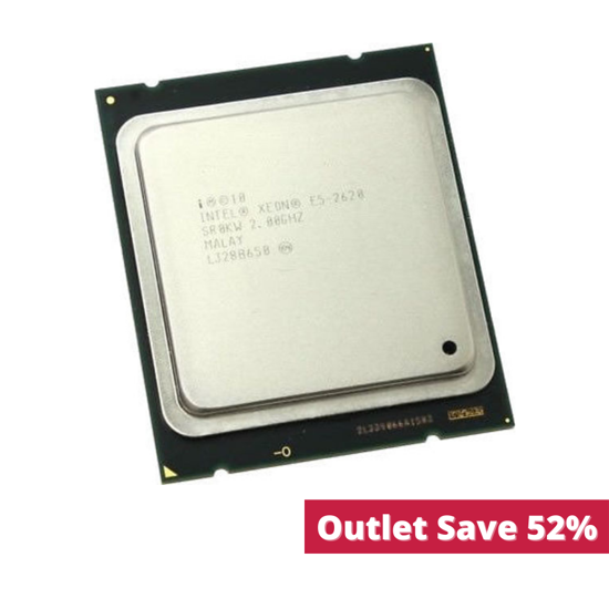 Picture of Intel Xeon E5-2620 (2.0GHz/6-core/15MB/95W) Processor Kit - SR0KW (Outlet)