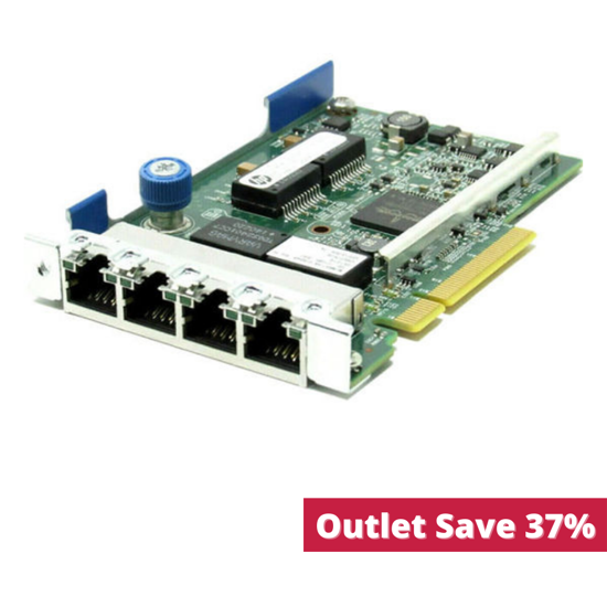 Picture of HP Ethernet 1Gb 4-port 331FLR Adapter 629135-B21 634025-001 (Outlet)