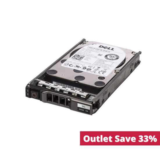 """Picture of Dell 600GB 6G 10K 2.5"""" SAS Hard Drive (No Caddie) 7YX58C1 (Outlet)"""
