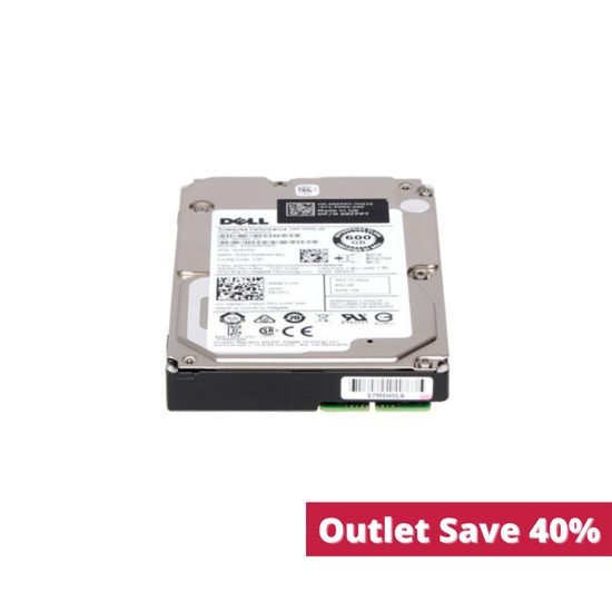 """Picture of Dell 600GB 15K 12G SAS 2.5"""" Hotswap Hard Drive 4HGTJ 04HGTJ (Outlet)"""