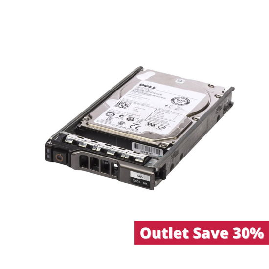 """Picture of Dell 600GB 6G 10K 2.5"""" SAS Hard Drive 7YX58 (Outlet)"""