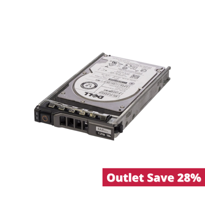"""Picture of Dell 1.2TB SAS 10k 2.5"""" 6G Hard Drive 36RH9 (Outlet)"""