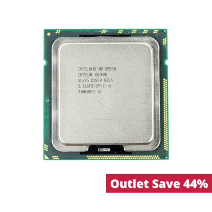 Picture of Intel Xeon X5550 (2.66GHz/4-core/8MB/95W) Processor SLBF5 (Outlet)