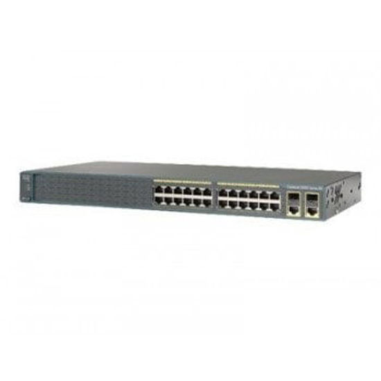 Picture of Cisco Catalyst 2960-24LC-S WS-2960-24LC-S Switch