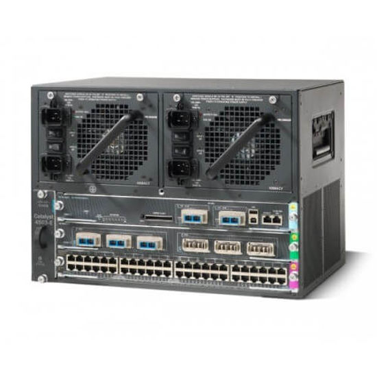 Picture of Cisco Catalyst 4503-E WS-C4503-E Switch Chassis