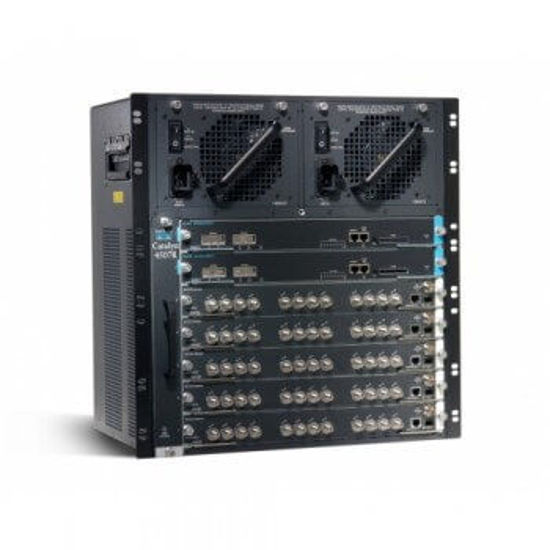 Picture of Cisco Catalyst 4507R+E WS-C4507R+E Switch Chassis