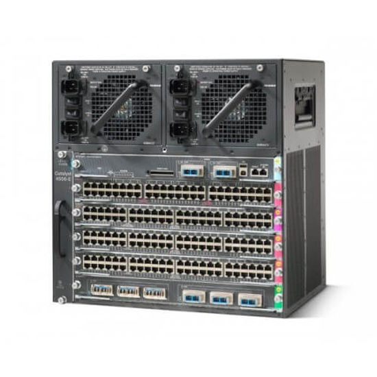 Picture of Cisco Catalyst 4506-E WS-C4506-E Switch Chassis