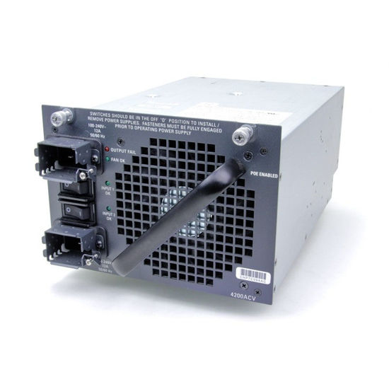 Picture of Cisco Catalyst 4500 PWR-C45-4200ACV 4500 4200W AC Dual Input Power Supply