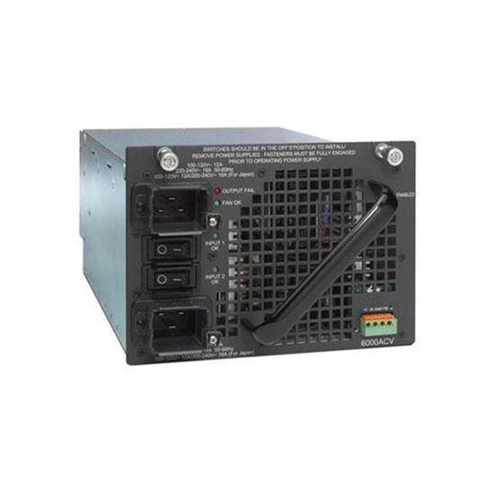 Picture of Cisco Catalyst 4500 PWR-C45-6000ACV 4500 6000W AC Dual Input Power Supply