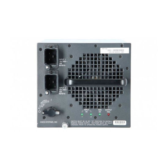 Picture of Cisco WS-CAC-6000W Catalyst 6500 6000W AC Power Supply
